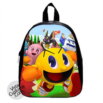 Pac Man Party New Hot School Bag Backpack