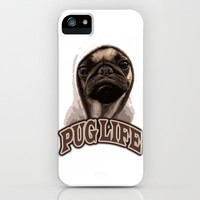 Pug Life iPhone Case by Maxx Hendriks