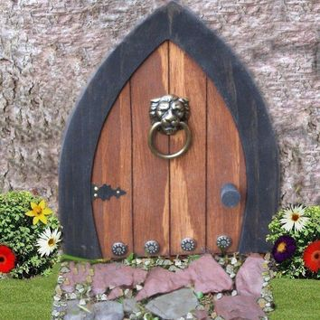 Gnome doors Fairy Doors Faerie Doors Elf Doors 9 by NothinButWood