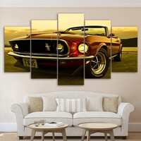 1969 Ford Mustang Canvas