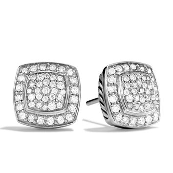 Petite Albion Earrings with Diamonds - David Yurman