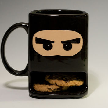 Ninja dunk mug by apiecebydenise on Etsy