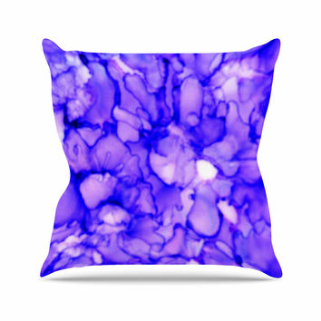 "Claire Day ""Purple"" Lavender Throw Pillow"