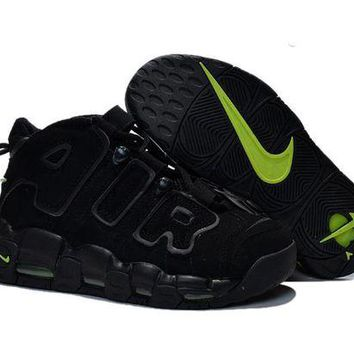 DCCKL8A Jacklish Womens Nike Air More Uptempo Gs Black-volt Girls Size For Sale