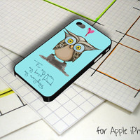 Little Baby Owl iPhone 5 Case