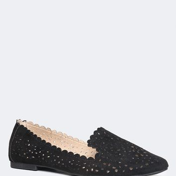 Perforated Flower Flats