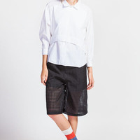 Grid Woven Shorts