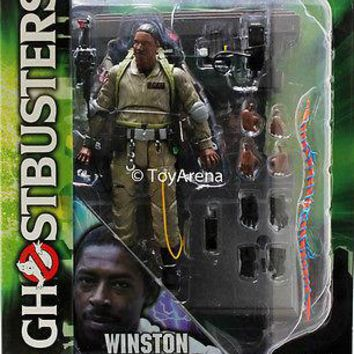 Ghostbusters Select Series 1 Winston Zeddemore Action Figure