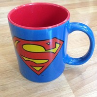 Officially Licensed Warner Brothers & DC Comics Super Hero Coffee Mug (Superman)