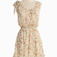 Simple Musings Floral Dress | Modern Vintage Spring Florals