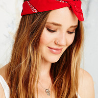 Vintage Renewal Bandana Scarf in Red - Urban Outfitters