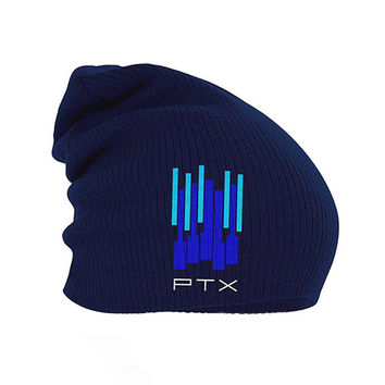 Pentatonix Official Store | Pentatonix Piano Keys Beanie