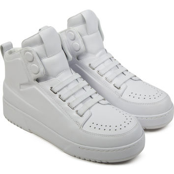 3.1 Phillip Lim White PL31 High Top Sneakers | HYPEBEAST Store.
