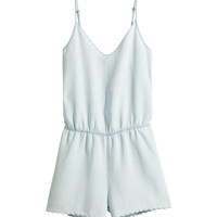 H&M - Romper - Light blue - Ladies