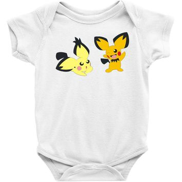 pichu duo Baby Onesuit