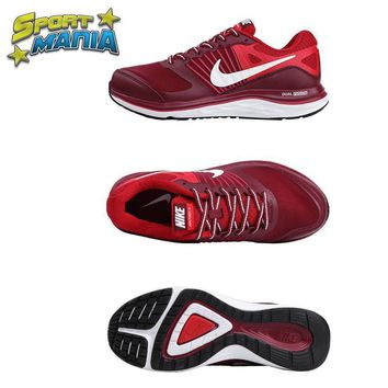 NIKE DUAL FUSION X1 Red Men Sport Running shoes