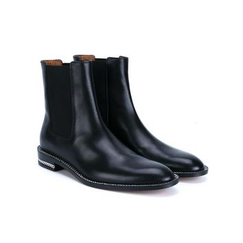 Leather Chelsea Boots - GIVENCHY