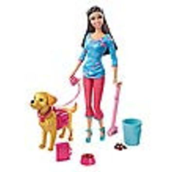 Barbie Potty Training Puppy African American Doll