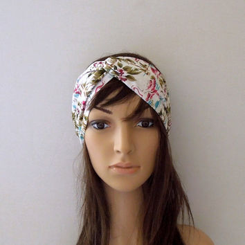 Flamingo Turban Headband