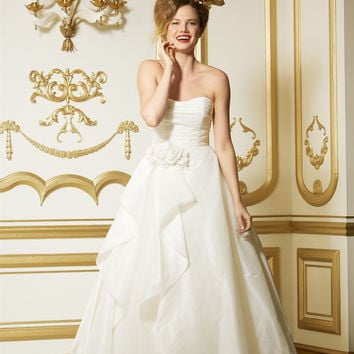 Wtoo by Watters 11421 Strapless Rosette Bridal Gown