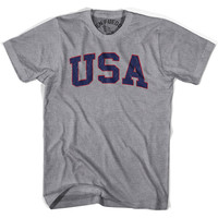 USA Vintage T-shirt, Grey Heather