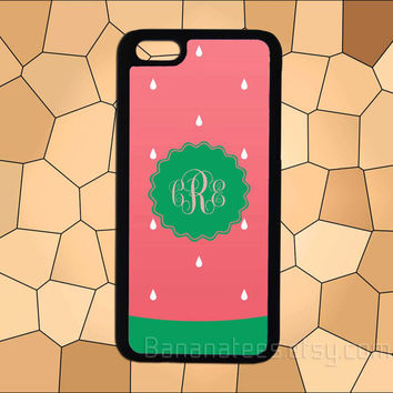 Watermelon monogram case,iPhone 6 case,iPhone 5/5S case,iPhone 4/4S case,Samsung Galaxy S3/S4/S5 case,HTC Case,Sony Experia Case,LG Case