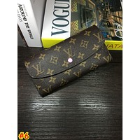 LV tide brand female peas wallet wallet button wallet #6