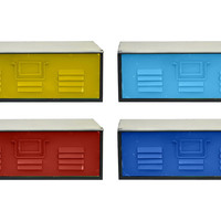 Asst. of 4 Metal Wall Storage Bins, Wall Storage & Organization