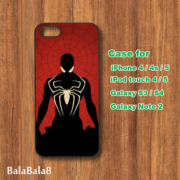 Spiderman- iphone 5 Case,iPhone 4 case,iphone 4S case,iPod 4,iPod 5 case,Samsung Galaxy S3 case,S4 case,note 2 case,Blackberry Z10,Q10