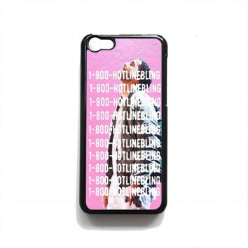 1800 hotline bling For iPhone 5c case