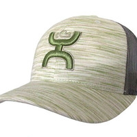 Hooey Hat - Cactus Ropes Trucker - Heather Green/Grey