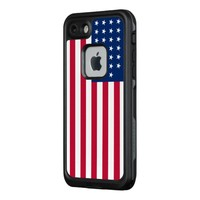 American Flag LifeProof FRE iPhone 7 Case