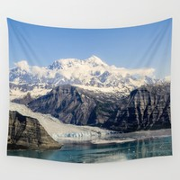 Mountain Lake Landscape Wall Tapestry by Nature's Beauty