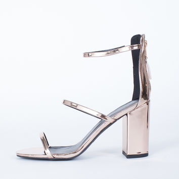 Crushin' on Metallic Heels