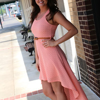 Toes in the Water {Hi-low Dress}