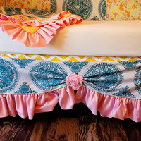 Addison's Wonderland The Claire Baby Crib Skirt