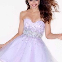 Mori Lee Sticks & Stones Dress 9210 at Peaches Boutique