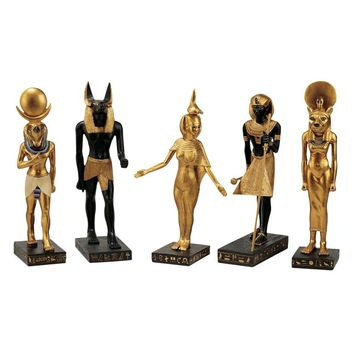 Design Toscano Inc 8.5H in. Gods of the Egyptian Realm Statues - Sculptures & Figurines at Hayneedle