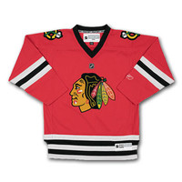 Chicago Blackhawks Reebok Toddler Replica (2-4T) Home NHL Hockey Jersey
