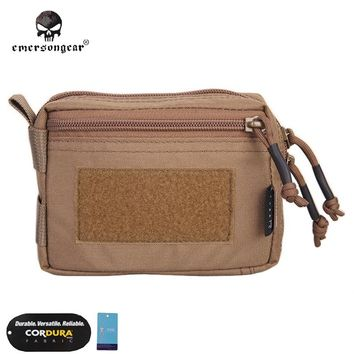 Emersongear Plug-in Debris Waist Bag Hunting Tool Pouch Molle Emerson  Military Combat Gear EM8337 Multicam Coyote Brown Black