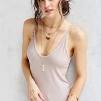 Truly Madly Deeply Double Voop Tank Top - Urban Outfitters