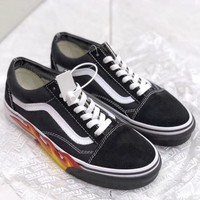 Trendsetter Vans Women Men Fashion Casual Skateboard Shoes