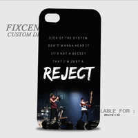 5 seconds of summer rejects 3D Image Cases for iPhone 4/4S, iPhone 5/5S, iPhone 5C, iPhone 6, iPhone 6 Plus, iPod 4, iPod 5, Samsung Galaxy (S3, S4, S5) by FixCenters