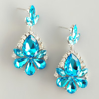 Spanish Dancer Crystal Earrings