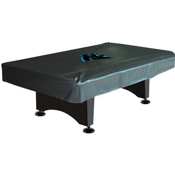 Carolina Panthers NFL 8 Foot Pool Table Cover