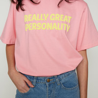 Great Personality Tee | NYLON SHOP
