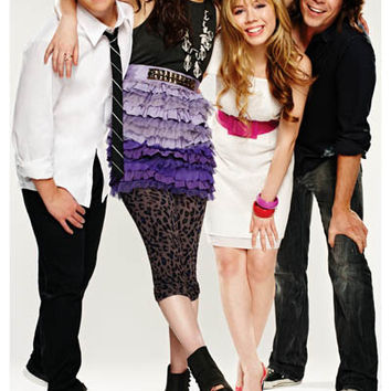 iCarly TV Show Cast Poster 11x17