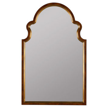 Mirrors, Maki Wall Mirror, Antique Gold, Wall Mirrors