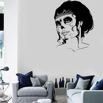 Wall Stickers Vinyl Decal Vampire Zombie Sexy Girl Apocalypse Decor  Unique Gift (z2341)