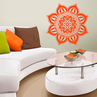 Wall Decals Egypt Egyptian Culture Patterns Flora Flower Ancient Eastern Art Bedroom Living Any Room Vinyl  Sticker Home Decor Mural  ML152